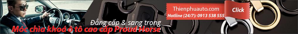 Móc chìa khoá ô tô cao cấp Proud Horse