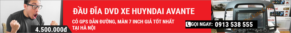 Đầu đĩa DVD Huyndai avante