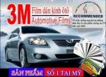 Vì sao nên chọn dán phim cách nhiệt, chống nóng ô tô 3M?