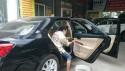 Dọn và bảo dưỡng nội thất ô tô Camry Toyota bằng máy Automagic của USA