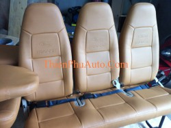 Bọc ghế da ô tô cho xe Ford Transit, chất liệu giả da cao cấp , bảo hành 01 năm