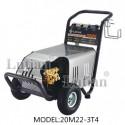 Máy rửa xe áp lực cao , công suất 3.0kw, áp suất 2200PSI / 150Bar, lưu lượng 14 lít/phút