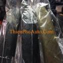 Bọc ốp vô lăng tay lái ô tô cao cấp, chất liệu da công nghiệp xịn, bền đẹp, màu đen, kem , ghi