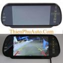 Bộ camera lùi siêu nét và màn hình gương 7 inch HD lắp cho các loại xe