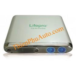 Máy lọc không khí và khử mùi ô tô Lifepro L338-OT, màu vàng đồng