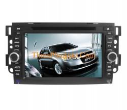 Đầu DVD theo xe Chevrolet CAPTIVA 2007-2011, xe Epica, Lova, GMC , màn hình 7 inch, cắm giắc theo xe