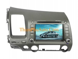 Đầu DVD theo xe Highsky Honda Civic 2007-2010, màn hình 7 inch, cắm giắc, liền dưỡng, không cắt nối