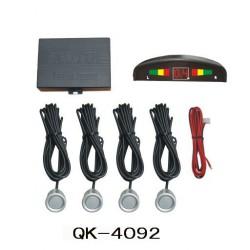 Cảm biến lùi ô tô Keecom QK-4092, báo hiệu có vật cản , màn hình hiển thị khoảng cách