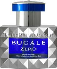 Nước hoa ô tô Nhật Bản cao cấp Bugale Zero Ghi xanh dương I78