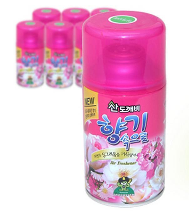 Khử mùi xăng bằng các sản phẩm nước xịt mùi